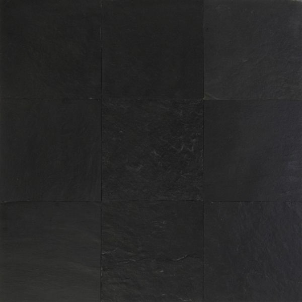 Dark Slate Tile : Black slate tile intrepid marble and granite