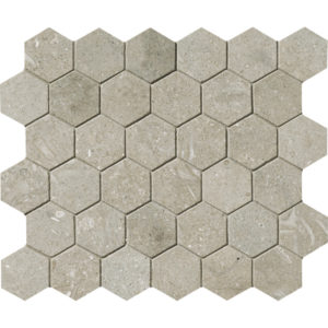 Seagrass Honed Hex Mosaic