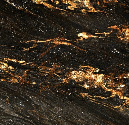 Black Fusion Granite : Black fusion granite slab intrepid marble and