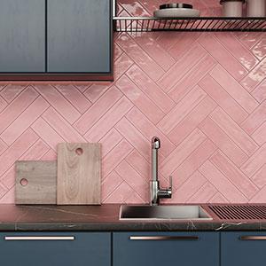 Flow - Velvet Pink install square 300x300