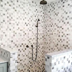 Snow White & Skyline Mosaic - square 300x300